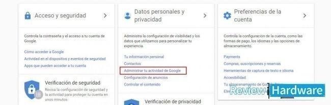 detener recomendaciones de youtube