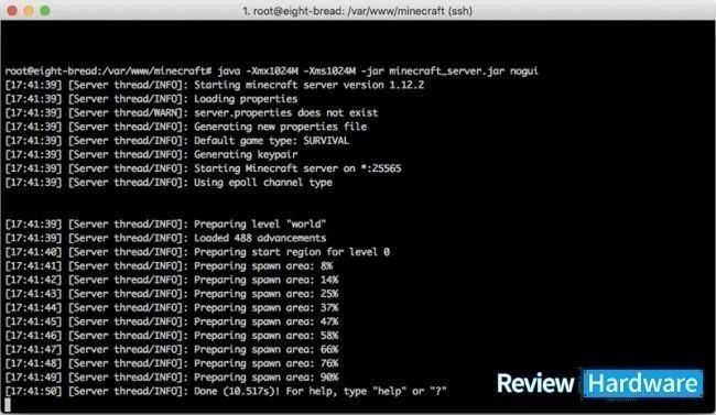 configurar servidor de minecraft en ubuntu