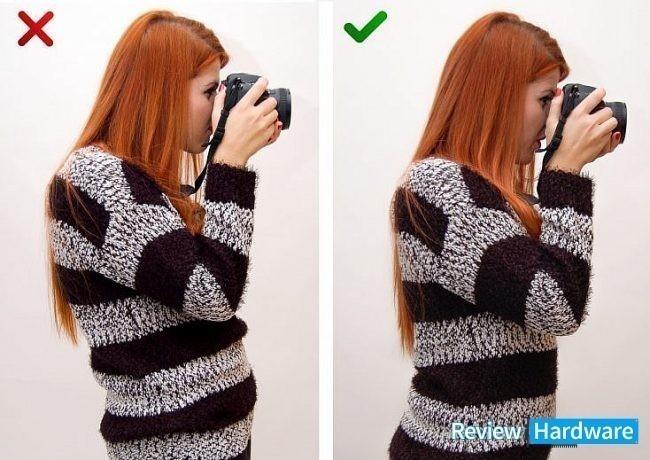 mejorar la calidad de tus fotos adoptando la posición correcta