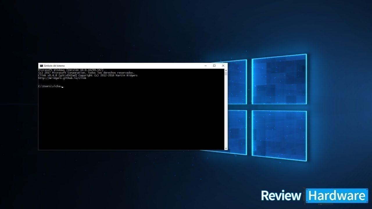 Para qué sirve la consola de comandos en Windows