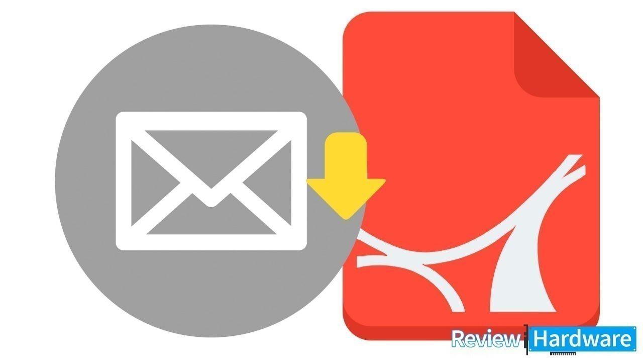 Cómo descargar pdf de emails